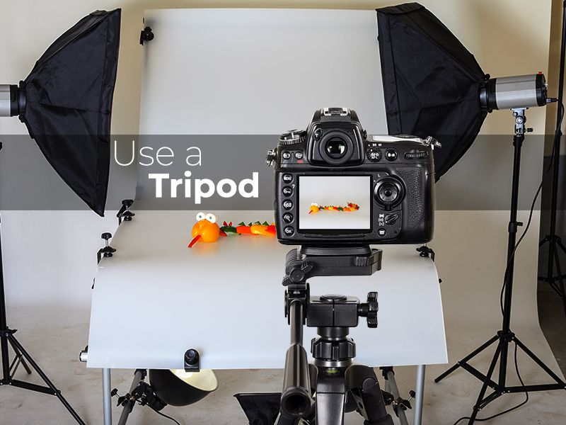 Use of Tripod for Photography