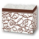 Chocolate Drizzled  Large Basket Box 6/cs