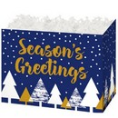 Season's Greetings Large Basket Box 6/cs