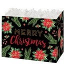 Merry Christmas Large Basket Box 6/cs