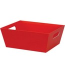 Red Large Market Tray 3/cs