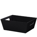 Black Large Market Tray 3/cs