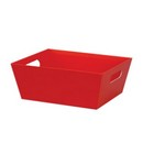 Red Small Market Tray 6/cs