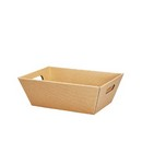 Kraft Small Market Tray 6/cs