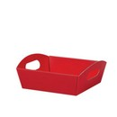 Solid Red Small Presentation Tray 6/cs