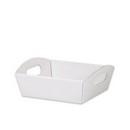 Solid White Small Presentation Tray 6/cs