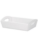 Solid White Large Presentation Tray 6/cs