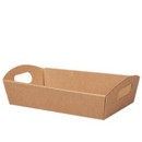 Kraft Large Presentation Tray 6/cs