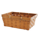 Brown Bamboo Market Tray (9
