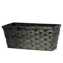 LIGHT Black Bamboo Rectangular (Approx. 14'') 24/cs