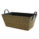 Black/Gold Storage Basket (15
