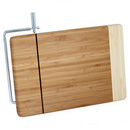 Bamboo cutting board w/ slicer 11''x7.5'' 12/cs