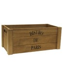 Bistro De Paris Wooden Crate 10/cs