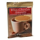 Lady Walton's White Chocolate Amaretto Wafers 30/28g/1oz
