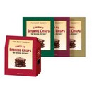 Vision Pack The Burnt Bakery Chocolate Brownie Crisps 24/57g /2oz