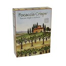 Focaccia Crisps Tuscan Style Crackers Small 48/113g/3 oz