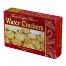 Vineyard Collection Three Pepper Blend Water Crackers Red 48/2oz/57g