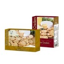 Vineyard Collection 3 Pepper Blend Water Crackers Gold 12/226g/8oz