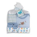 Cribmates 5pc Layette Gift Set (Blue) 1/cs