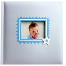 Baby Album Blue Star 6x4