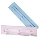 Cloth Hooks Assorted Pink/Blue 6/cs