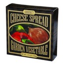Comfort Collection Gourmet Cheese Spread Garden Vegetable (Black) 24/106g/3.75oz