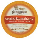 Glacier Ridge Naturally Smoked Garlic Round 12/8oz