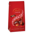 Lindt Lindor Milk Chocolate Truffles Mini Bag 24/.8 oz/24g