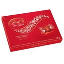 Lindt Milk Chocolate Gift Box Small (Red) 18/120g