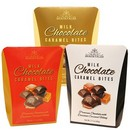 Snacktales Milk Choc Caramel Bites 10pk Asst 3 Colors 24/60g/2.1 oz