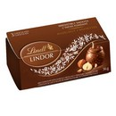 Lindt Lindor Chocolates 3 Pack Hazelnut (Copper) 16/36g/1.27 oz