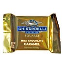 Ghirardelli Milk Chocolate w/Caramel Squares (Gold) 50/0.53 oz