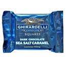 Ghirardelli Dark Chocolate w/ Sea Salt Caramel (Blue) 50/ 11g /.53 oz