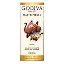 Godiva Milk Choc Hazelnut Oyster Bar 10/83g/3oz