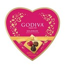 Godiva Assorted Truffle Heart Box (9pc) 12/93g/3.3oz
