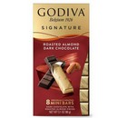Godiva Signature Roasted Almond Dark Choc Mini Sticks 12/3.1oz/90g