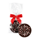 Long Grove Dark Chocolate Peppermint Snowflakes 24/1.75 oz/50g