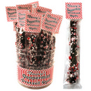 Nancy's Dark Chocolate Peppermint Pretzel Rods 28/26g/0.75 oz