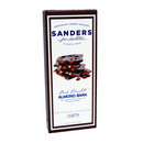 Sanders Pavilion Collection Dark Chocolate Almond Bark 12/106g/3.75 oz