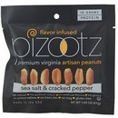 Pizootz Peanuts Sea Salt/Cracked Pepper 18/1.45 oz