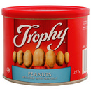 Trophy Foods Roasted & Salted Peanuts 12/227g
