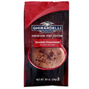 Ghirardelli Double Chocolate Cocoa Packets 23/24g/0.85 oz